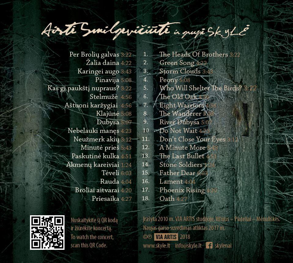"""CD """"Broliai"""" viršelis"""