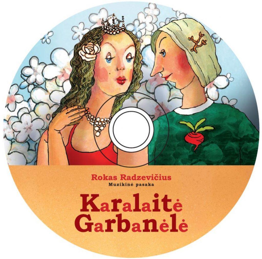 """""""Karalaitė Garbanėlė"""" CD"""