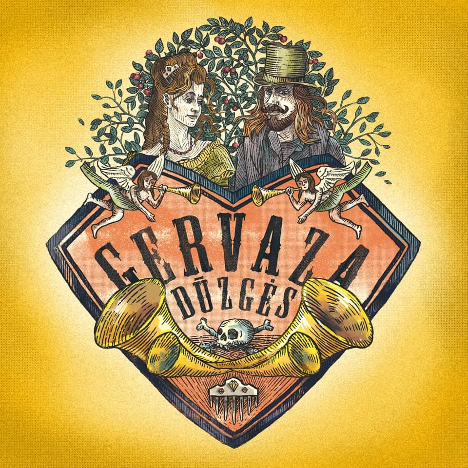 """CD """"Gervaza duzgės"""" viršelis"""