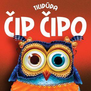 "Tilidūda ""Čip čipo"" CD viršelis"